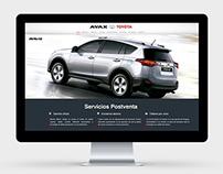 Toyota Uruguay Website