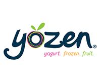 Yozen helados branding