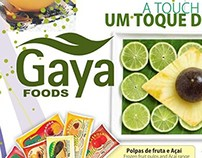 Gaya Foods Magazine Adverts