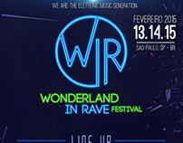 Wonderland Festival - Flyer