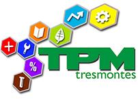 Logo, TPM Tresmontes, valparaiso chile