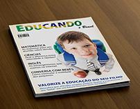 Diagramação de Revista sobre Educação Infantil