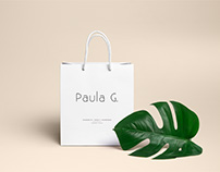 Paula G - Branding - Packaging