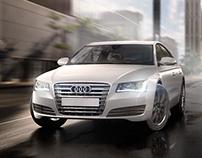 Audi A8 Advertisement