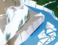 Illustration landscape