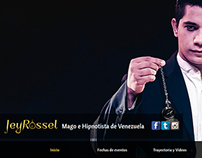 The Magician and Illusionist Jey Rossel Web Site