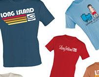 Long Island - estampas de camisetas