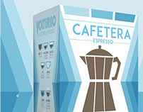 Cafetera Espresso Volturno