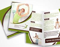 Folheto Fisioterapeuta