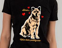 Estampa para Camiseta - Vira-lata