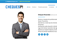 Cheques Personales -Financial Website