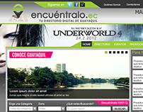 Diseño pagina web Encuentralo.ec