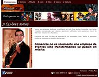 Romanzza - Responsive Website