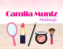 Identidade Visual - Camila Muniz Makeup