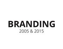 Branding 2005 & 2015