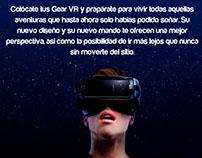 Publicidad para lentes de realidad virtual
