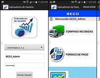 App móvil Indicadores Comerciales
