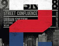 Street & Urban Art a T-shirt desi
