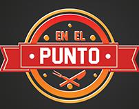Línea gráfica para EnElPuntoVe ·2016·