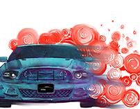 playeras autos