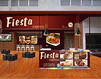 Pollo Fiesta Propuesta nuevo montaje Fiesta Express