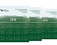 Calendario 2016 - Carlos Semidey, Asesor de Seguros