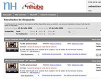NH nhube Hoteles | Maquetacion HTML/CSS