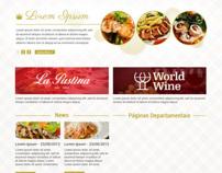 Proposta de site: La Pastina