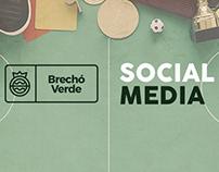 Brechó Verde | Social Media