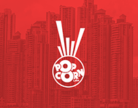 Brand identity PopCorn Labs