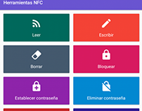 NFC Tools Material Design