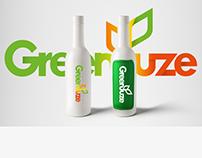 Creación de logo_GREEN JUZE