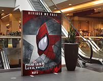 Fan Poster Spiderman - Captain America Civil War