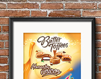 Afiche Temporada de caramelos