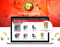 Cines Unidos Candy web