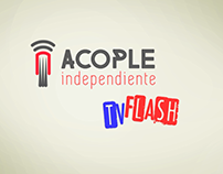 Presentación Acople Indepediente TV Flash