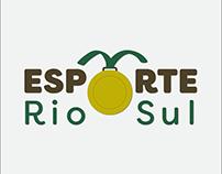 Branding Web Portal Esporte Rio Sul