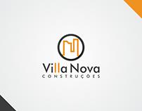 Villa Nova Construções - Logo Design