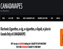 Canada Vapes | Buy E-Cigarettes Canada