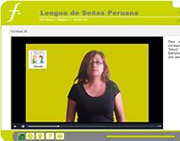 Curso virtual: Lengua de Señas Peruana (LSP).