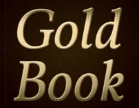 Gold Book - app comemorativo