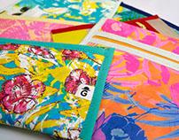 Cartucheras / Necessaire de papel