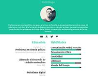 Currículum vitae online