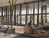 Architectural Render - Interior Garden