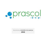 Prascol - e.s.p // Diseño de Marca
