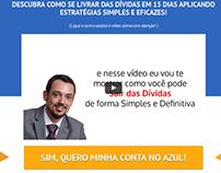 Página de Vendas minhacontanoazul.com.br