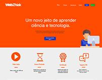 WebDesign da Plataforma de ensino Webzhiak