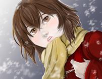 """Hinazuki Fan-art de """"Boku dake ga inai machi"""""""
