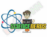 LOGO AND CHARACTER DESIGN for Science Nerds from USA