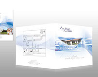 Brochure para residencial La joya